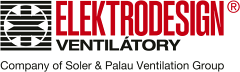 logo ELEKTRODESIGN ventilátory spol. s r.o.