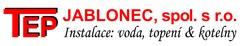 logo TEP Jablonec spol. s r.o.