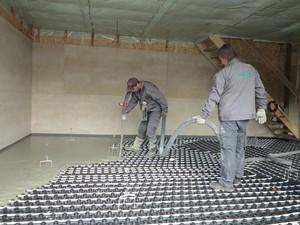 CEMFLOW® - Litý cementový potěr
