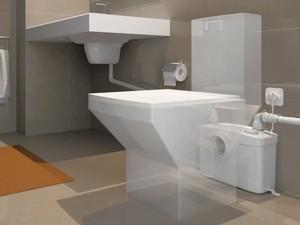 SANITOP Silence - instalace WC a umyvadla kdekoli