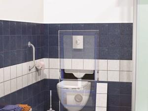 SANIWALL Pro UP verze obklad - závěsné WC s přečerpáním