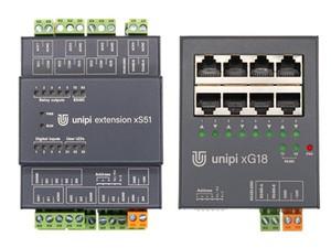 Rozšiřující moduly Unipi