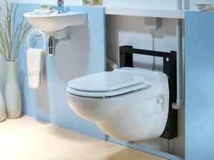 SANICOMPACT Star - závěsné kompaktní WC s přečerpáním