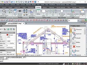 Uživatelské prostředí 4M CAD 21