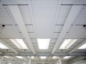 Teplovodní sálavé a chladicí panely EUTERM