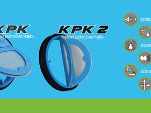 Pachtěsné zpětné klapky KPK a KPK2