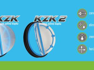 Zpětné klapky KZK a KZK2