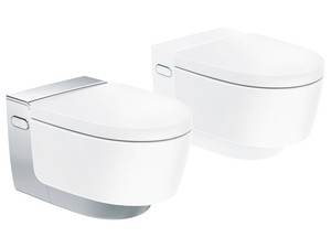 Kompletní toalety s integrovanou sprchou