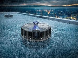 Geberit Pluvia - Střešní odvodňovací systémy