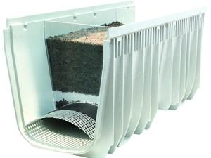 Žlab MEA Clean pro ekologické čištění dešťové vody