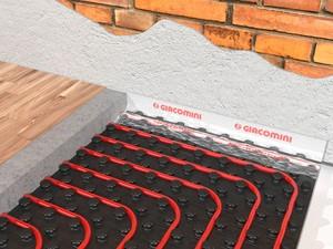 Giacoklima - kompletní systém pro podlahové vytápění